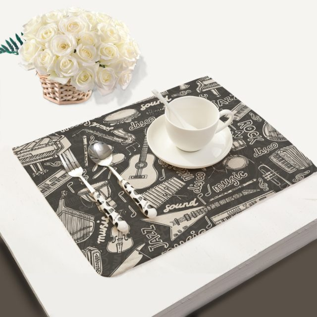 Musical Dinner Placemats - Various Designs