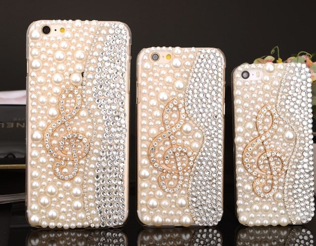 3D Sol Clef Bling Cover for iPhone (6-XS)